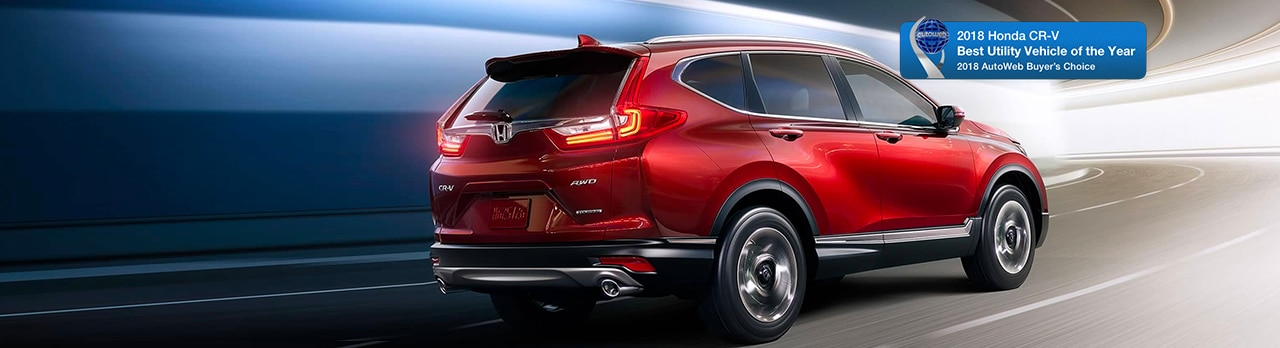 10 Reasons the 2018 Honda CR-V is AutoWeb Buyers Choice Utility of the Year!