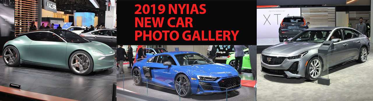 2019 NY Auto Show New Car Gallery