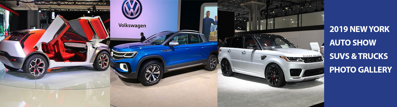 2019 NY Auto Show SUVs and Trucks Gallery